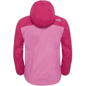 The North Face Girls Resolve Reflective Jacket Roxbrypk/Wstrpr